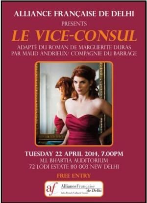Maud Andrieux, Le Vice-consul, Marguerite Duras, Théâtre Marguerite Duras, TMD